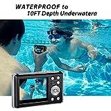 Zoom IMG-2 hg8011 fotocamera digitale impermeabile 12
