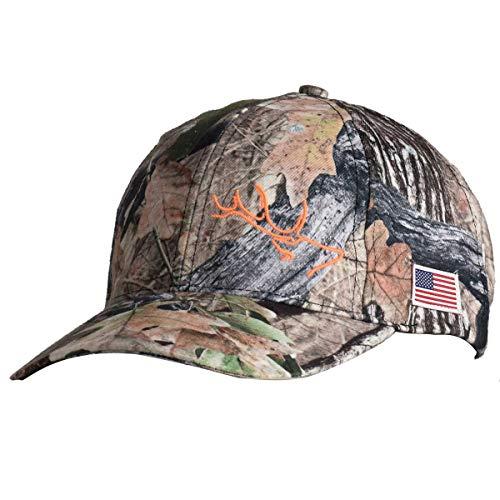 EDTREK Navigator Performance Hat for Hunter and Angler - Waterproof Hunting Cap, Fishing Cap, Outdoor Cap (in Deep Camo)