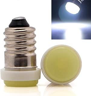 EverBrightt 30-Pack White E10 F10 1SMD LED Lamp Auto Car LED Interior Light Bulb Screw E10 12V