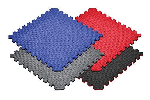 Norsk Truly Reversible 3/4' Sport MMA Foam Mats - EVA Foam Interlocking Tiles