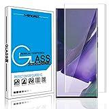 Galaxy Note 20 Ultra 5G Screen Protector Venoro 9H Anti-Fingerprint, HD, Bubble Free Full Coverage Tempered Glass Screen Protector for Samsung Galaxy Note 20 Ultra 6.9inch (Clear)