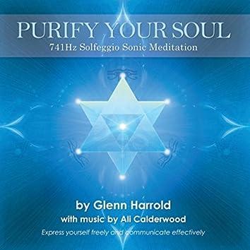 Purify Your Soul: 741hz Solfeggio Meditation (Expression & Communication)