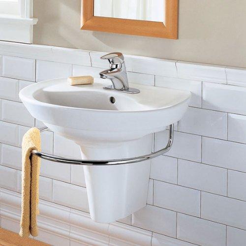 American Standard Ravenna Semi-Pedestal Sink Leg, White