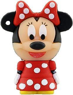 USB Flash Drive USB Flash Disk Memory Stick Thumb Pen Hi-Speed USB2.0 Silicon Novelty Cute Cartoon Disneys Series Style Gr...
