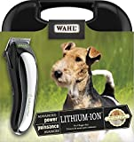 Wahl Canada Lithium Ion Cordless Pet Clipper Kit, Powerful, Silent, Adjustable Taper Control