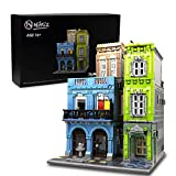 Nifeliz Street URGE Hotel MOC Building Blocks and Engineering Toy, Construction Set to Build, Model Set and Assembly Toy for Teens and Adult (4143 Pcs)