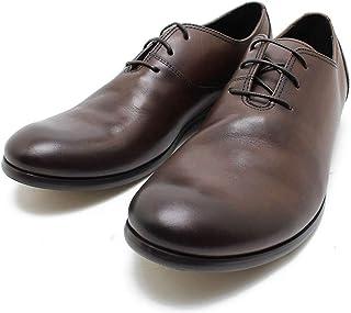 [フープディドゥ] 306743 レースアップシューズ ダークブラウン 一枚甲革シューズ ビジネス/ドレス/紐靴/革靴/仕事用/メンズmk