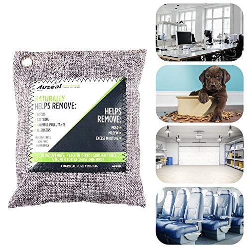 Bamboo Charcoal Activated Carbon Air Freshener Auto Home Odor Deodorant Bag Geurverwijdering voor auto, kast, badkamer, sporttas, schoenen