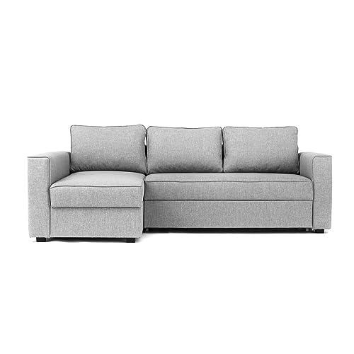 Grey Corner Sofa Bed: Amazon.co.uk