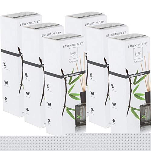Essentials by Ipuro Black Bamboo 200ml Durfträume (6er Pack)