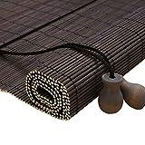 Persianas enrollables y estores Bambú Rústico De Bambú Enrollar La Ventana De...