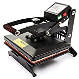 Display4top 12' x 10' Digital Heat Press T Shirt Heat Press Transfer Sublimation Machine, use for Industrial, Professional and Home