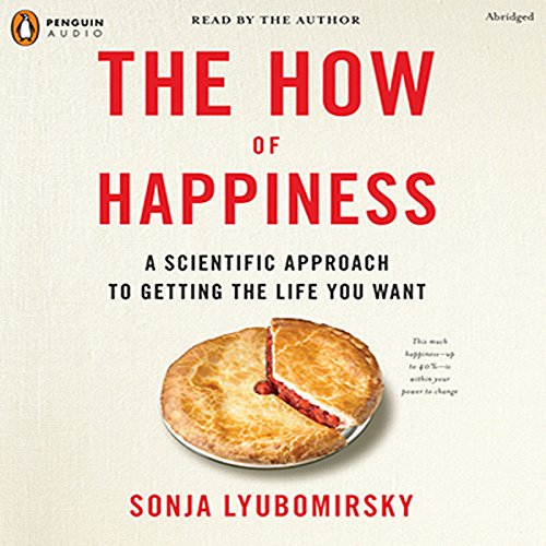 The How of Happiness audiobook cover art