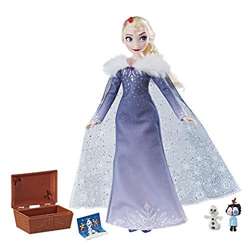Pasa el ratón por encima de la imagen para ampliarla Hasbro Elsa Muñeca | Tesoro de Tradiciones | Disney Frozen C3383