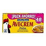 AVECREM - Gallina Blanca Caldo Sabor Pollo Estuche 48 Uds