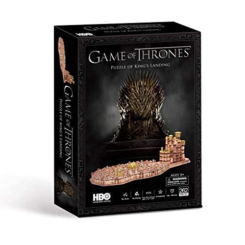 Paul Lamond- Game of Thrones Juego de Tronos King'S Landing Puzzle 3D, Multicolor (7475)