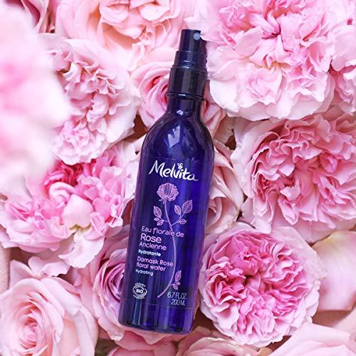 Melvita Damask Rose Floral Water 6.7oz, 200ml