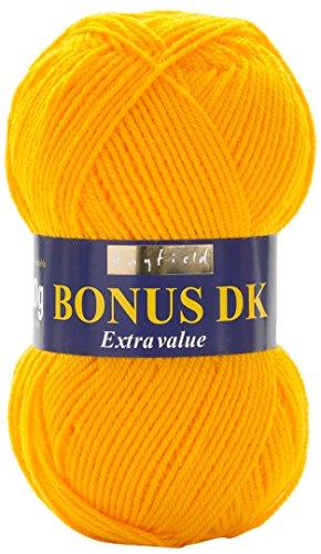 Hayfield Bonus DK Double Knitting - 100g Sunflower (978) by Sirdar