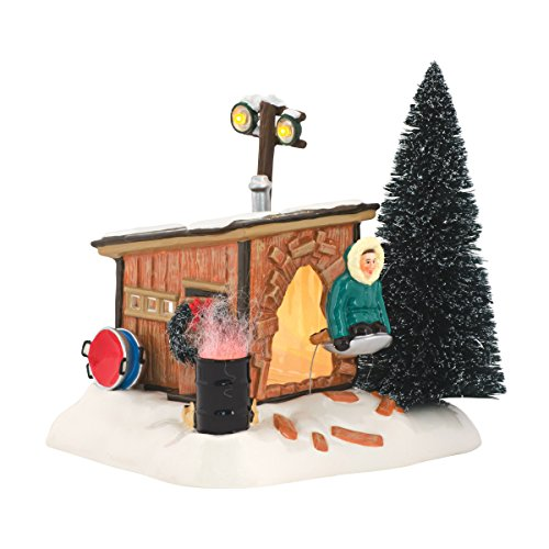 Department 56 National Lampoon's Christmas Vacation Griswold Sled Shack Lit Building