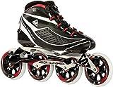 K2 Race Skate Radical Pro Longmount - Patines para Hombre Negro Negro Talla:40