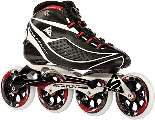 K2 Herren Race Skate Radical Pro Longmount, schwarz, 38