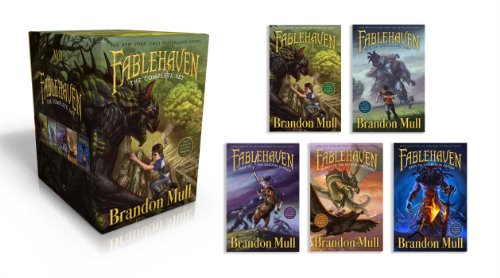 『Fablehaven Complete Set (Boxed Set): Fablehaven; Rise of the Evening Star; Grip of the Shadow Plague; Secrets of the Dragon Sanctuary; Keys to the Demon Prison』の1枚目の画像