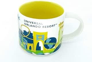 Universal Studios Orlando 2016 Starbucks YAH You Are Here Coffee Mug Cup 2016