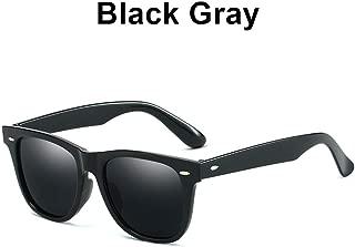 Anti Reflective Sunglasses Classic Black Mirror Sun Glasses For Men