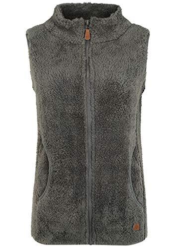 OXMO Theri Damen Weste Fleece Outdoor Weste, Größe:L, Farbe:Castlerock (799486)