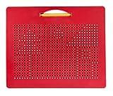 Playmags 174 Tableta de Viaje Magna Board Design & Draw con 748 Bolas magnéticas integradas, lápiz Capacitivo y fácil de Transportar con educación Creativa para niños de 3 años