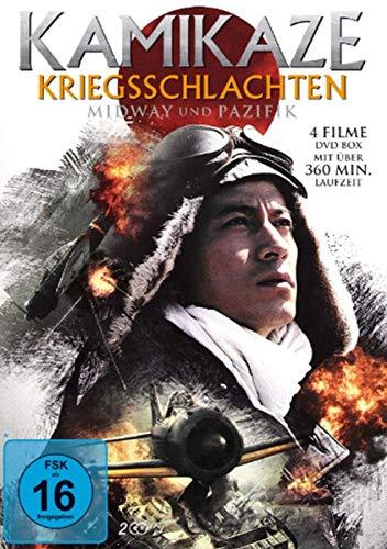 Kamikaze Kriegsschlachten - Midway und Pazifik [2 DVDs]