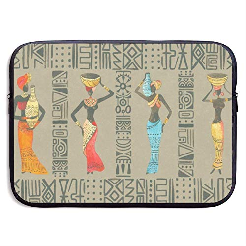 13 Inch Laptop Sleeve Briefcase African Woman Best Neoprene Waterproof Handbag Protective Bag Cover Case for Surface Laptop/Notebook/Acer/Asus/Dell/Lenovo/iPad/Surface Book