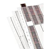 Hama Étuis à négatifs, papier cristal, 10 bandes de 4 négatifs, 24x36cm, 25 pièces