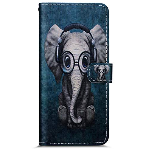 Herbests telefoonhoesje voor Samsung Galaxy J6 2018. Samsung Galaxy J6 2018 Kleiner Elefant