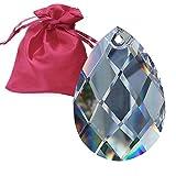 Set Péndulo (63mm En Bolsa De Fina Regalo Cristal Colgante Arco Iris Cristal Feng Shui Ventana Joyas