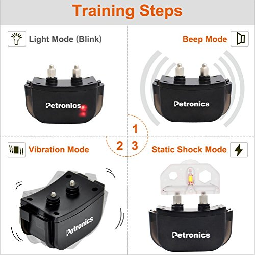 Petronics Rechargeable Shock Training Collar: Best for Large Dogs