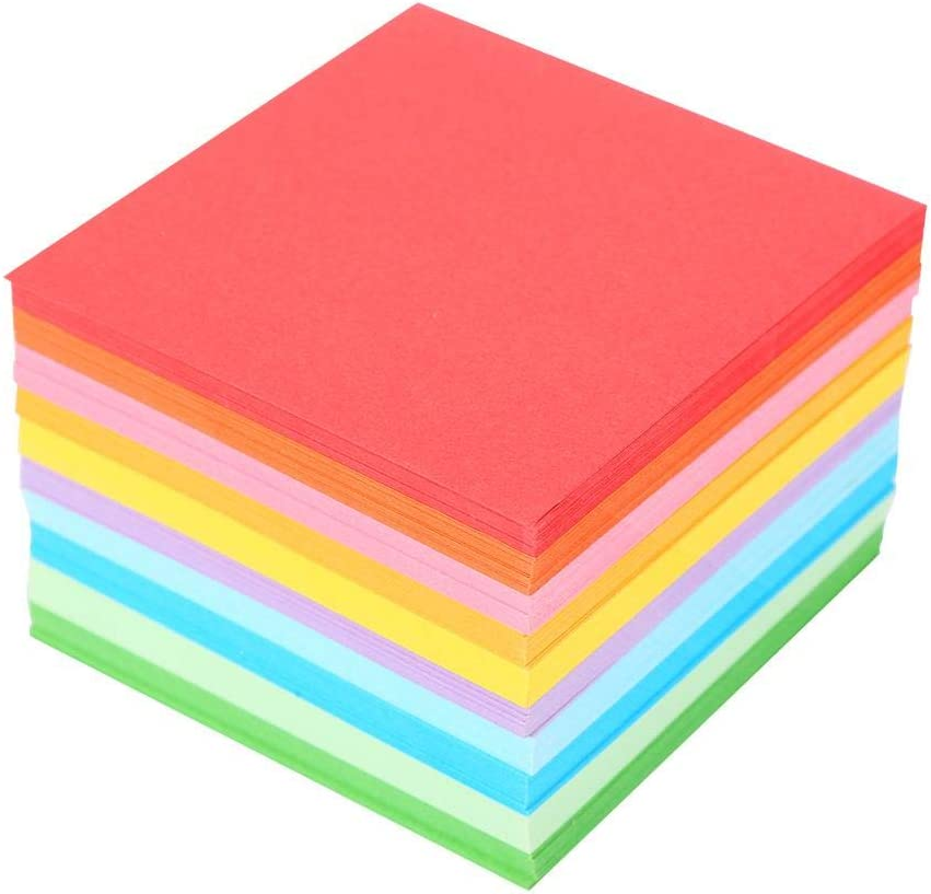 Superior Origami Paper Coloured Card 1 Pack Large cm Los Angeles Mall 520 7x7 pcs