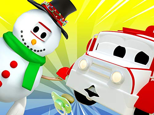 【Christmas】Spooky snowman / Stuck in a snow bank  / Carrie's candy is missing / Someone is speeding