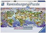 Ravensburger- Puzzle 2000 Pièces Merveilles du Monde Puzzle Adulte, 4005556166985, Multicoloured