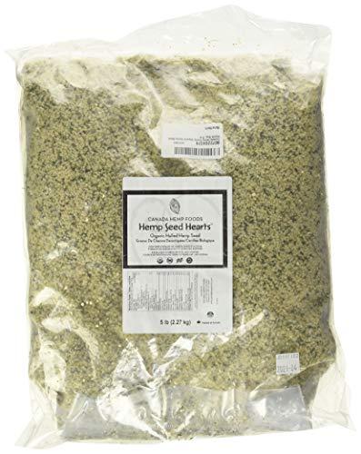 Canada Hemp Foods Organic Hemp Seeds, 5 Pound Bag