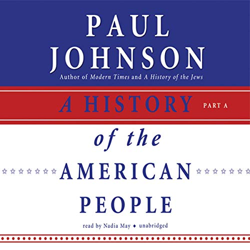 A History of the American People audiobook cover art