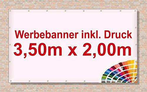 KDS Hofladen Spannbanner Banner Werbebanner 2 x 0,5 Meter Plakat