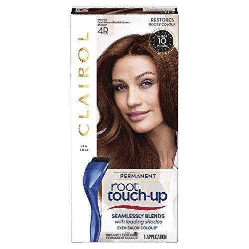 Clairol Root Touch Up Permanente Haarfarbe, 4R Dark Auburn, volle Deckkraft und einfache Anwendung, 50 ml