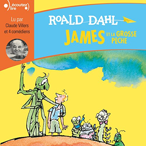 James et la grosse pêche audiobook cover art