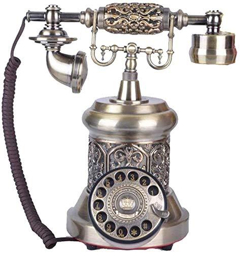 Teléfono creativo decorativo retro Antiguo teléfono fijo antiguo vintage antiguo teléfono casa sala de estar estudio decoración retro oficina oficina oficina Oficina Regalos / Decoraciones / Coleccion