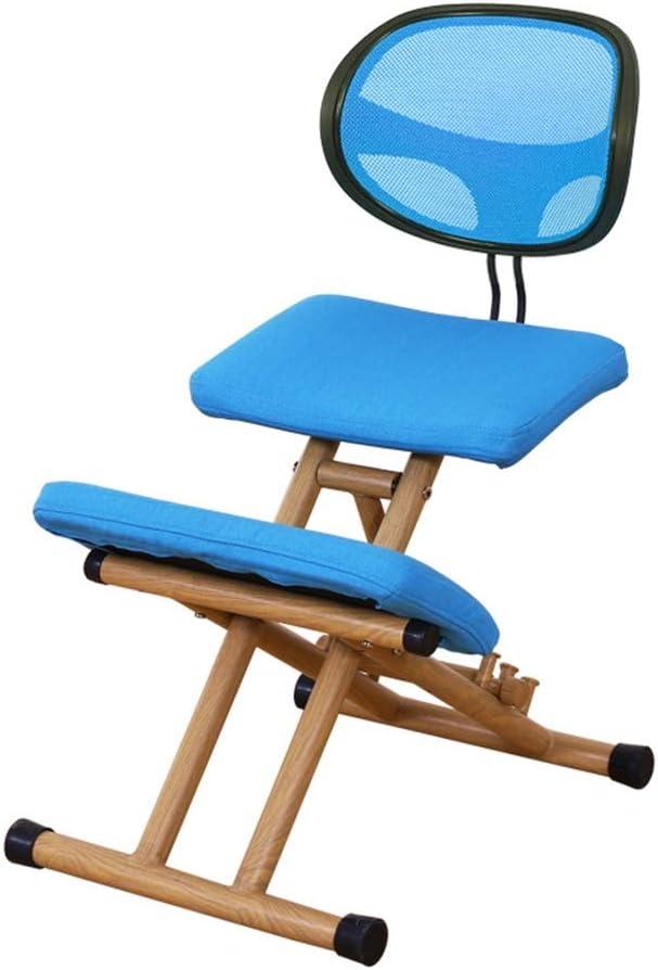 XFENG Adjustable Ergonomic Kneeling Chair Humpback Pre Large discharge sale supreme Non-Slip