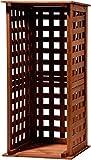 dobar 29097FSC–Scaffale portalegna in Legno per Interni ed Esterni in Giardino, Marrone, 39x 39x 85cm
