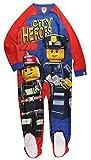 LEGO Big Boys' Blanket Sleeper Good Cop, Red/Blue, 4/5