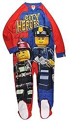 powerful Lego Boys Blanket Sleeper Good Cup Red / Blue 10/12