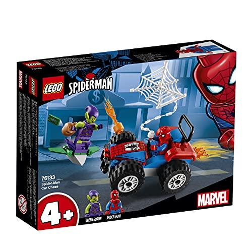LEGO 76133 Super Heroes Spider-Man Verfolgungsjagd (Vom Hersteller Nicht mehr verkauft)